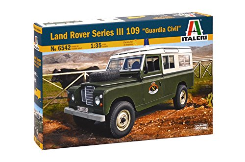 Italeri 6542S 1/35 Land Rover 109 Guardia Civil for sale  Delivered anywhere in USA