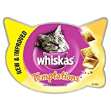 Whiskas Temptations Cat Treats Chicken 60g (PACK OF 4)