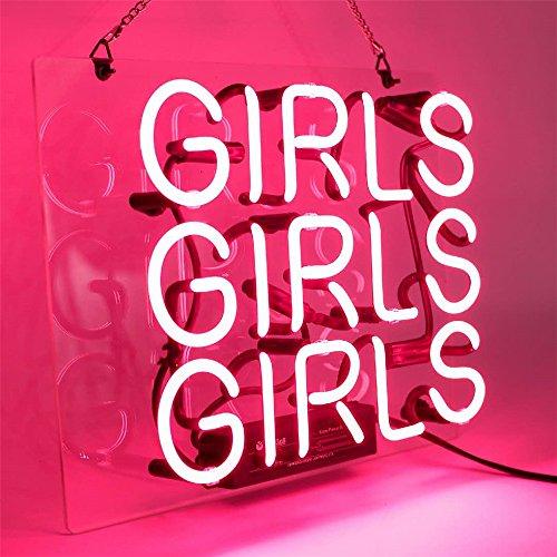 Jual Neon Lights Signs Girls Decor Of Beer Bar Bedroom Livingroom