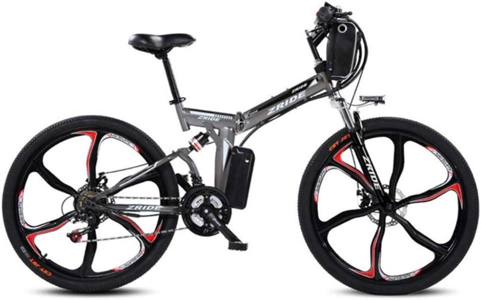 JPFCAK, Bicicleta Plegable Eléctrica Ciudad Bicicleta Bicicleta De ...