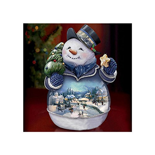 Elevin(TM) Christmas 5D DIY Rhinestone Diamond Embroid Painting Counted Paint by Number Kits Cross Stitch (L-1)