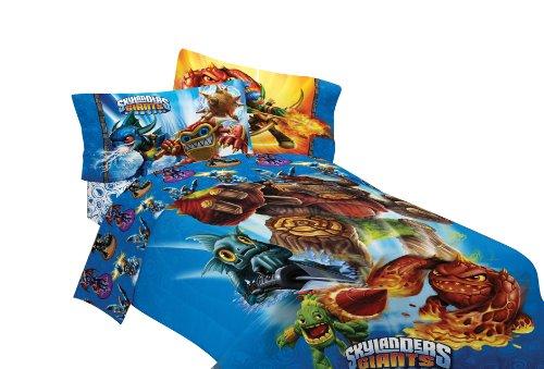 Attractive Skylanders Giants Microfiber Twin Comforter