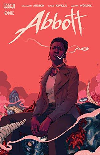 Cover of the graphic novel Abbott