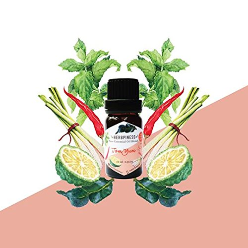 INFINITY AROMA SPA 100% PURE ESSENTIAL OIL BLEND HERB FROM TOM YAM HERB WEIGHT 10 ML.