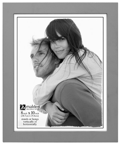 malden-international-designs-linear-classic-wood-picture-frame-8x10-gray
