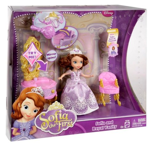 092234003834 - Disney Sofia The First Ready for The Ball Royal Vanity carousel main 7