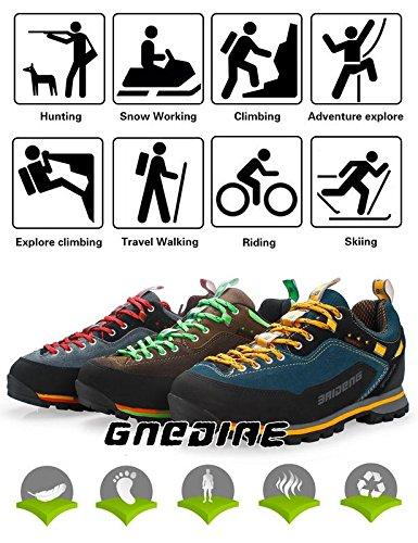 GNEDIAE Hike Trekking Wanderhalbschuhe Outdoor Sport Wander Schuhe Walking  Wanderstiefel Boots für Herren Damen 40-45  Amazon.de  Schuhe   Handtaschen 13a40c2541