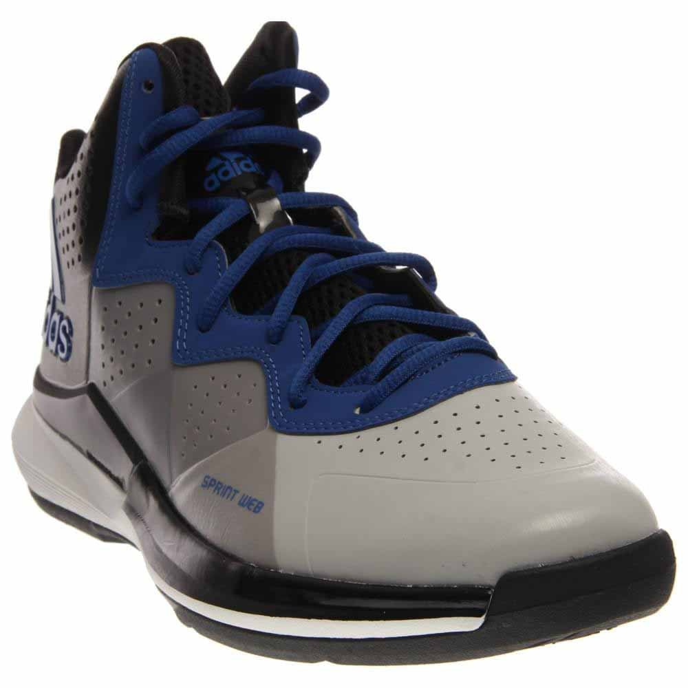 adidas Men's Intimidate Basketball Shoes B00JBEB2GM 9.5 D(M) US|Clear Onix/Collegiate Royal/Black