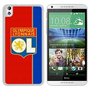 Unique Custom Designed Cover Case For HTC Desire 816 With Lyonnals White Phone Case 1