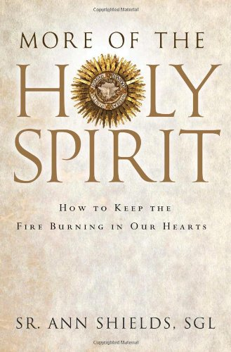 - More of the Holy Spirit: How to Keep the Fire Burning in Our Hearts