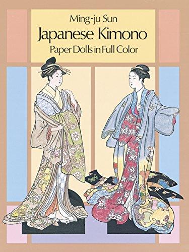 Japanese Kimono Paper Dolls - 1