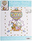 quilt cross stitch kits - Tobin Balloon Ride Baby Quilt Stamped Cross Stitch Kit, 34 by 43-Inch