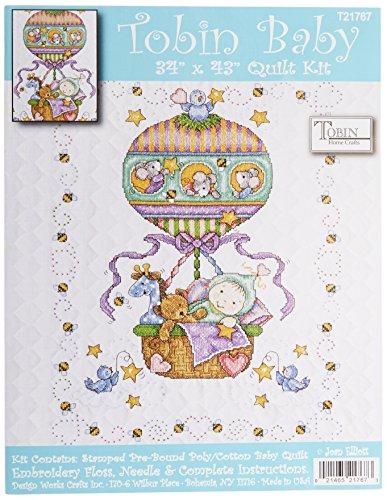 Paper Baby Quilt - Tobin Zig 35841 Memory System Wink of Stella Brush Glitter Markers 3/Pkg, Flower Power - Violet, Dark Pink, Orange