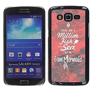 TopCaseStore / la caja del caucho duro de la cubierta de protección de la piel - Dating Motivational Love - Samsung Galaxy Grand 2 SM-G7102 SM-G7105