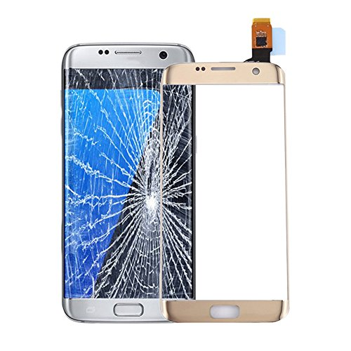 for Samsung for Galaxy S7 Edge Replacement Touch Screen Digitizer Repair Kit Outer Front Glass for G935V G935P G935F G935T G935A - Gold