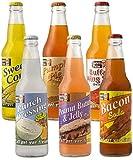 bacon flavored soda - Lester's Fixins Outrageous Wild Crazy Unique Flavor Soda Pop 6 Pack Sampler Set