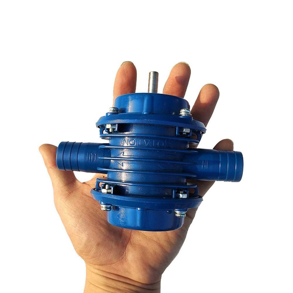 Selbstansaugende Kreiselpumpenbohrmaschine f/ür Haushaltswasser kleines Mikro f/ür Hausgarten selbstansaugende Hochleistungsbohrmaschine funny feng Handbohrger/ät-Wasserpumpe