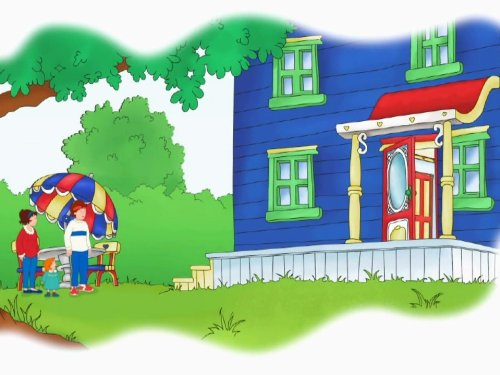 Caillou Cares & other Stories: Caillou Cares -