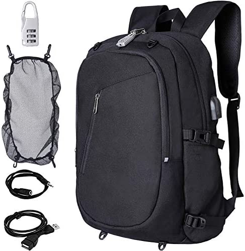 Laptop Backpack for Outdoor,Hiking,Casual,Unisex,College with USB Charging Port