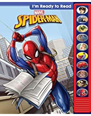 Marvel Spider-man I'm Ready to Read Sound Book - PI Kids (Play-A-Sound)