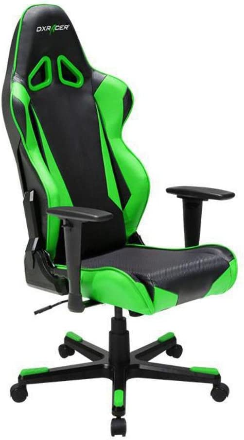 DXRacer OH RB1 NE Ergonomic, High Quality Computer Chair for Gaming, Executive or Home Office Racing Series Green Black