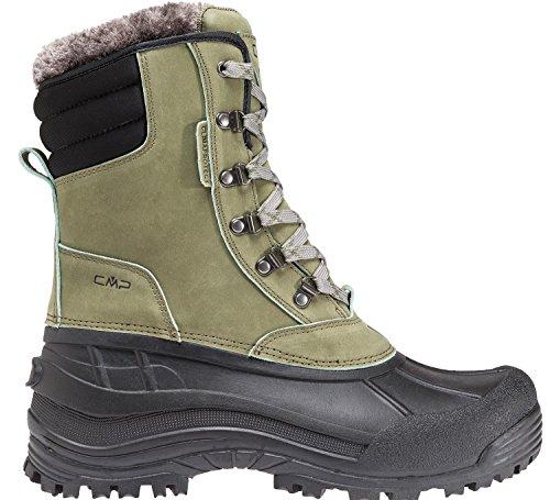 da da caldo Stivali CMP neve verde impermeabile scarpe 3q48867 lacci lacci lacci invernali stivali 47nwUqxf