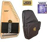 Oscar Schmidt 21 Chord Autoharp, Solid Spruce Top, Mahg Back, OS10021 AC445PACK