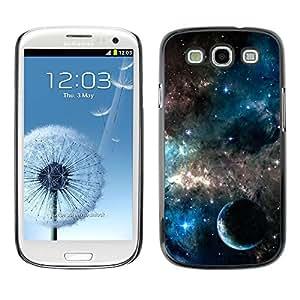 Caucho caso de Shell duro de la cubierta de accesorios de protección BY RAYDREAMMM - Samsung Galaxy S3 I9300 - Galaxies Universe Sky Stars Planet Nebula