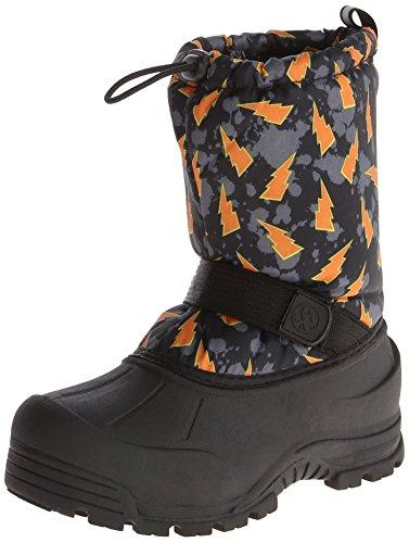 [Northside Frosty Winter Boot (Toddler/Little Kid/Big Kid),Black/Orange,6 M US Big Kid] (Boots For Boys)