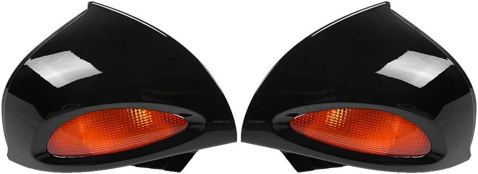 KIMISS 1 Paar R/ückspiegel mit Spiegel R/ückglas f/ür R1100RT R1150RT R850RT