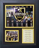 Legends Never Die Pittsburgh Steelers Super Bowl Championships Framed Photo Collage, 11x14-Inch