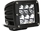 Rigid Industries 50131H D2-Series High/Low Driving Light (Single)