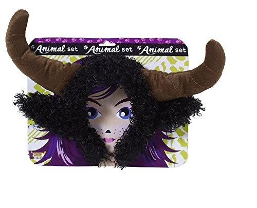 Forum Novelties Unisex Playful Animals Bull Costume Accessory Set, Multi, One size