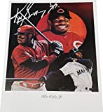 Ken Griffey Jr 18x24 Poster Photo Unsigned Cincinnati Reds Seattle Mariners