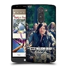 Official AMC The Walking Dead Bike Ride Daryl Dixon Hard Back Case for LG G3 Stylus / D690N / D690