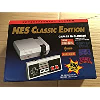 SWISIT Classic Family Game Console with Retro Game NES Games Classic Edition Mini Game Console 500 Video Games
