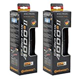 Continental Grand Prix 4000s II Cycling Tire (Bleck Set Of 2 Tires, 700 x 28C)