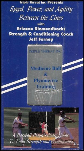 Medicine Ball and Plyometric Training (Speed, Power and Agility) [Between the Lines With Arizona Diamondbacks Strength & Conditioning Coach Jeff Forney] Tape 3 ()