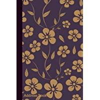 Address Book: Iris & Dark Sepia Floral Cover Design Birthdays & Address Book for Contacts, Addresses, Phone Numbers, Email, Alphabetical Organizer ... Girls, 6x9: Volume 17 (Floral Address Books)