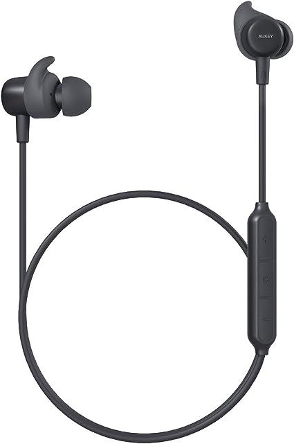AUKEY Cuffie Bluetooth Sport Bassi Potenziati, Auricolari