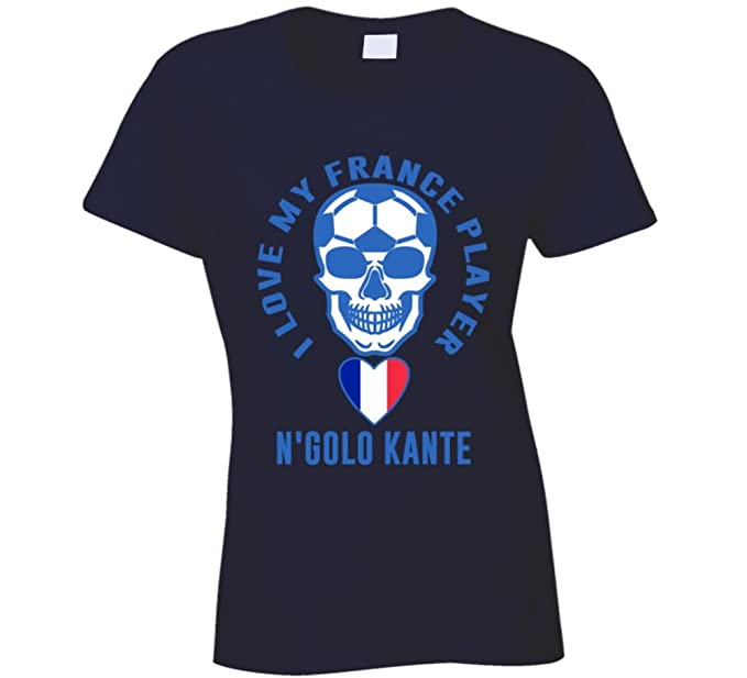 finest selection 28787 a107a Amazon.com: N'golo Kante I Love My Player France World Cup ...
