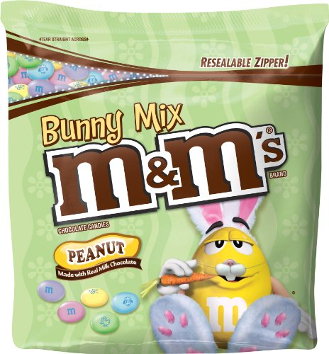 M&M's Chocolate Candies Bunny Mix, Peanut, 42-Ounce Package