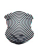 Image of iHeartRaves Optical Illusion Seamless Rave Mask All Over Print Bandana