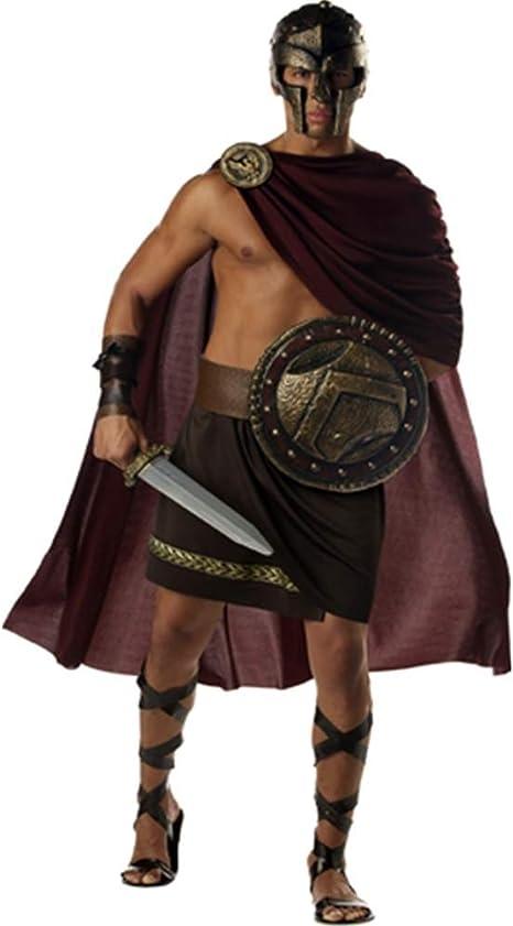 Gladiator Shield and Sword Roman or Greek Spartan Warrior Costume Fancy Dress