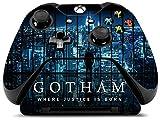 Controller Gear Gotham City Lights - Xbox One Skin Set for Controller and Controller Stand - Multi-Color