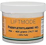 Liftmode Phenylethylamine HCL (PEA) Powder – 400 Grams (14.11 Oz) – 99+% Pure (667 Servings at 600 mg)   #Top Bulk Supplement   Increases Mood, Energy & Focus   Vegetarian, Vegan, Non-GMO, Gluten Free Review