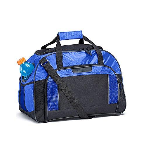 Borsa Sportiva A Tracolla Blu Royal E Nera