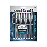 uni-ball Vision Elite Rollerball Pens, Micro Point (0.5mm), Assorted Colors, 8 Count