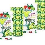 Celebrate Summer Together Margarita Kitchen Towel When Life Gives You Limes Make Margaritas