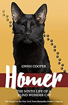 Homer: The Ninth Life of a Blind Wonder Cat by [Cooper, Gwen]